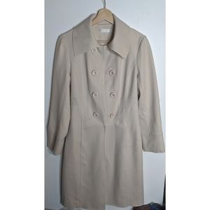 Karl Lagerfeld | Double breasted military trench